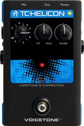 TC Helicon VoiceTone C1 Vocal Correction Pedal Product Image 3