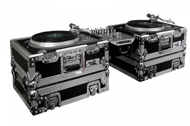 Stupendous Road Ready Rr1200Hws Stackable Two Case Turntable Combo With Pull Out Handle And Low Profile Wheels Download Free Architecture Designs Meptaeticmadebymaigaardcom