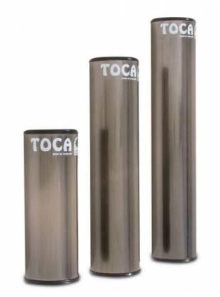 "Toca T-2101 Round 10"" Aluminum Shaker-Black Product Image 2"