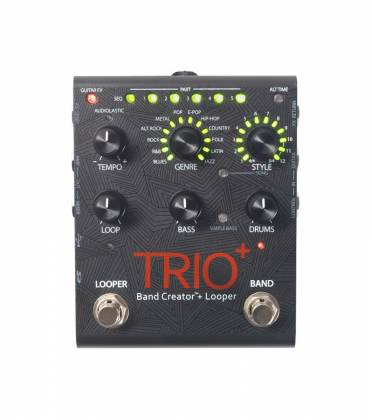 Digitech TRIO PLUS DOD Guitar Effects Pedal - a complete band in a pedal - just add guitar. trio-plus-+-digitech Product Image 6