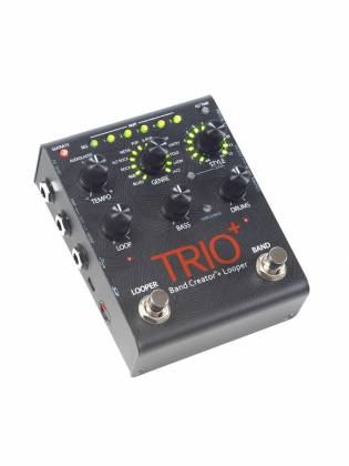 Digitech TRIO PLUS DOD Guitar Effects Pedal - a complete band in a pedal - just add guitar. trio-plus-+-digitech Product Image 2