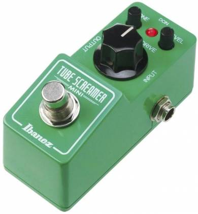 Ibanez TSMINI Tube Screamer Compact Overdrive Mini Pedal Product Image 2