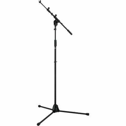 Tama MS436BK Iron Works Tour Series Adjustable Boom Mic Stand - Black Product Image