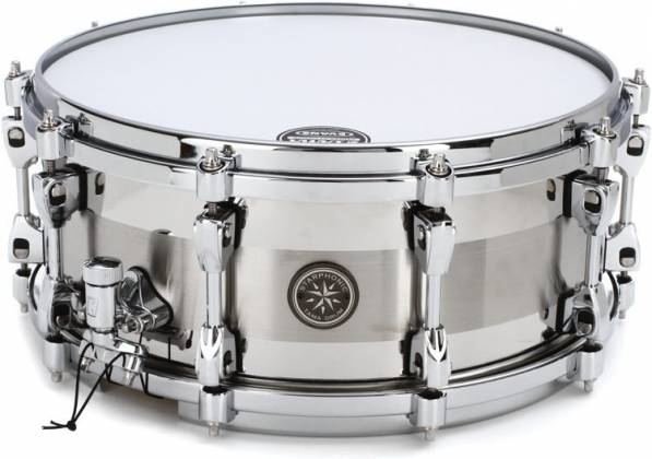 Tama PSS146 Starphonic Stainless Steel Snare Drum, 6x14