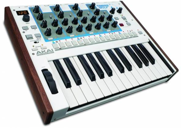 Akai Timbre Wolf Analog 4-Voice Polyphonic Synthesizer and Midi Keyboard (open box discontinued clearance) Product Image