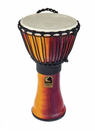 Fiesta Finish Toca SFDMX-12F Freestyle Mechanically Tuned 12-Inch Djembe