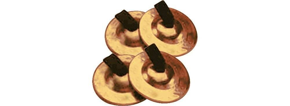 Toca T2530 Finger Cymbals 2 Pair Product Image 2
