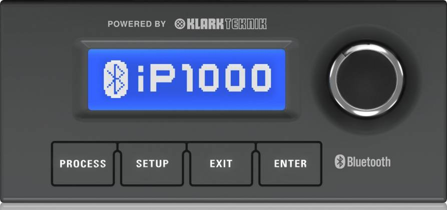 Turbosound IP1000 V2 Inspire Bluetooth Enabled 1000W Powered Column  Loudspeaker and Dual 8