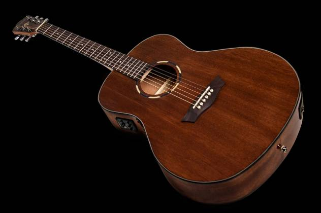 Washburn WLO12SE Woodline 10 Series Orchestra Shape 6 String Acoustic Electric Guitar (discontinued clearance) Product Image 6