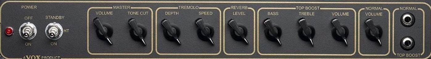 "Vox AC15C1 12"" Celestion G12M Greenback Combo Amplifier Product Image 6"