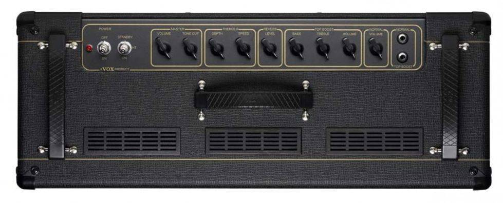 "Vox AC15C2 Custom Twin Celestion 2x12"" 15W Guitar Combo Amplifier Product Image 4"