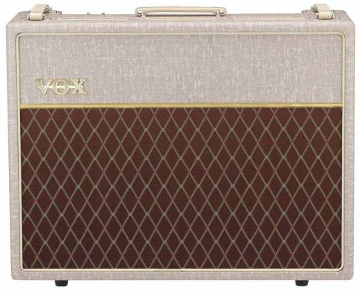 "Vox AC30HW2X 30W 2x12"" Alnico Blue Hand Wired Combo Amp Product Image 2"