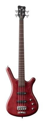 Warwick GPS124401 PPASHFR Teambuilt Pro Series Corvette Passive 4-String RH Electric Bass with Bag - Burgundy Red Product Image 2