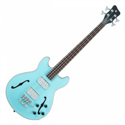 Warwick 1594618500CPMAPAWWM RockBass Star Bass 4-String RH Electric Bass - Daphne Blue Product Image 2