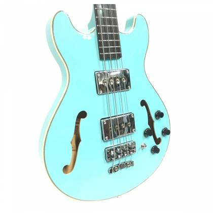 Warwick 1594618500CPMAPAWWM RockBass Star Bass 4-String RH Electric Bass - Daphne Blue Product Image 4