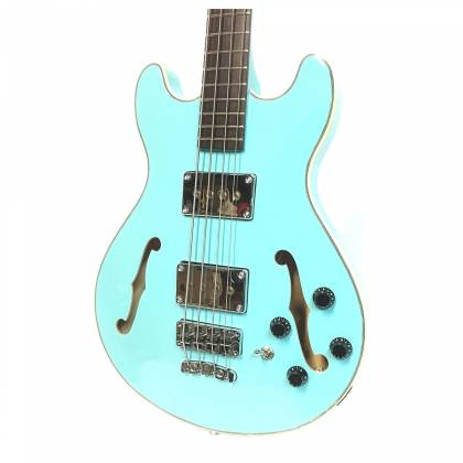 Warwick 1594618500CPMAPAWWM RockBass Star Bass 4-String RH Electric Bass - Daphne Blue Product Image 5