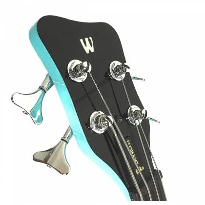 Warwick 1594618500CPMAPAWWM RockBass Star Bass 4-String RH Electric Bass - Daphne Blue Product Image 6