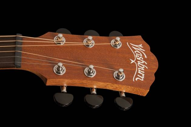 Washburn AGM5K-A Apprentice Series G-Mini 5 Style RH 6-String Acoustic Guitar with Gigbag Product Image 3