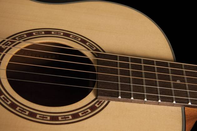 Washburn AGM5K-A Apprentice Series G-Mini 5 Style RH 6-String Acoustic Guitar with Gigbag Product Image 5