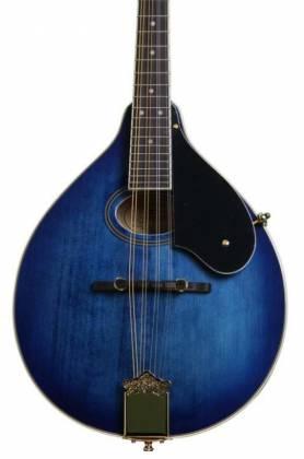 Washburn M1SDLTBL-A Americana Series A-Style Mandolin-Transparent Blue Product Image 4