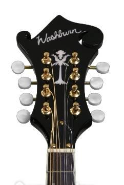 Washburn M1SDLTBL-A Americana Series A-Style Mandolin-Transparent Blue Product Image 6