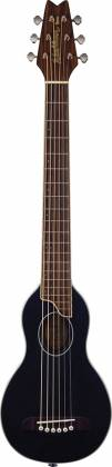 Washburn RO10SBK-A Rover 6 String RH Acoustic Guitar with Gigbag-Black Product Image 2