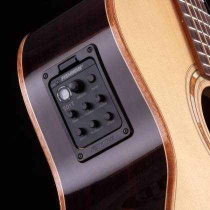 Washburn WCG25SCE-O Comfort Series Grand Auditorium Deluxe Cutaway 6-string RH Acoustic Electric Guitar-Natural Product Image 11