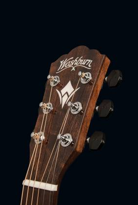 Washburn WCG700SWEK-D Comfort Series Grand Auditorium Cutaway RH 6-String Acoustic Electric Guitar-Natural Gloss Finish with Hard Case Product Image 7