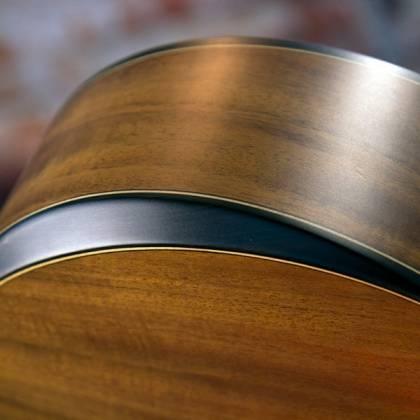 Washburn WCGM55K-D Comfort Series G-Mini 55 Koa 6-string RH Cutaway Acoustic Guitar-Natural satin Finish with Gigbag Product Image 5