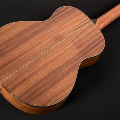 Washburn WCGM55K-D Comfort Series G-Mini 55 Koa 6-string RH Cutaway Acoustic Guitar-Natural satin Finish with Gigbag Product Image 8