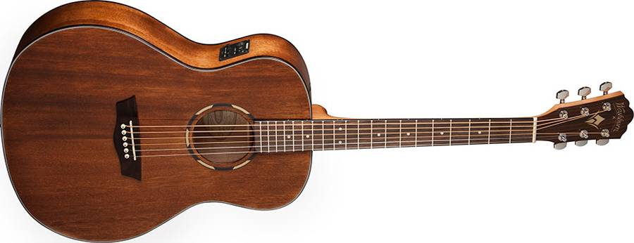 Washburn WLO12SE Woodline 10 Series Orchestra Shape 6 String Acoustic Electric Guitar (discontinued clearance) Product Image 2