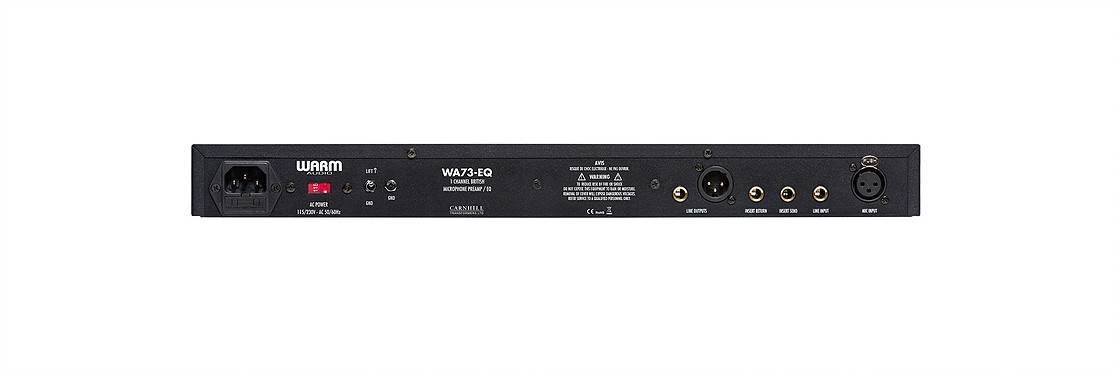 Warm Audio WA-73EQ Single-Channel Microphone Preamplifier and Equalizer wa-73-eq Product Image 5