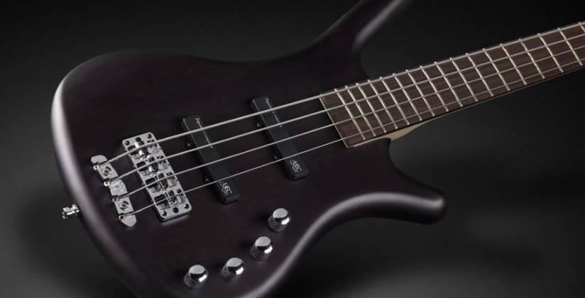 Warwick 1504030300CAALDAWW RockBass Corvette Basic 4-String RH Electric Bass - Nirvana Black Product Image 3