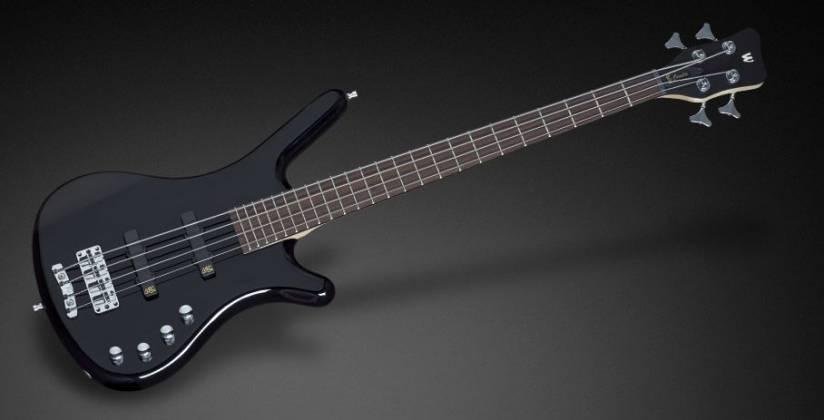 Warwick 1504030300CAALDAWW RockBass Corvette Basic 4-String RH Electric Bass - Nirvana Black Product Image 4