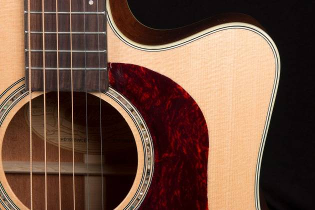 Washburn HD100SWCEK-D Heritage 100 Series 6 String RH Acoustic Electric Guitar with Hardshell Case Product Image 5