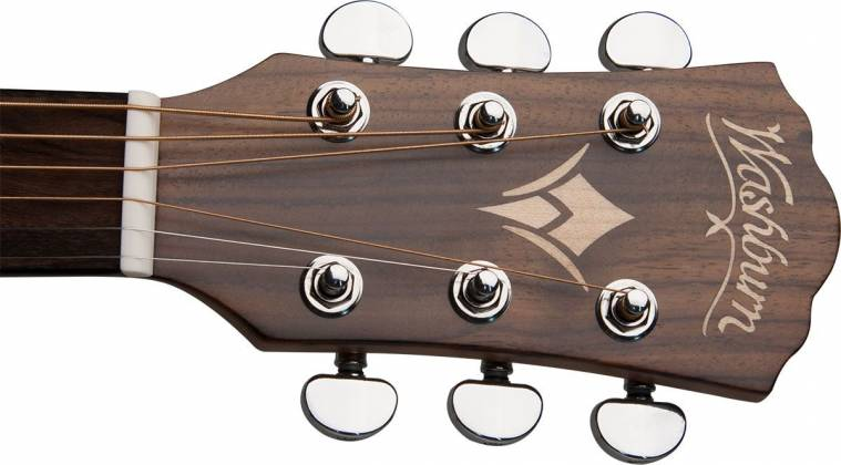 Washburn WCG10SNS Comfort Series 6 String RH Acoustic Guitar (discontinued clearance) Product Image 5