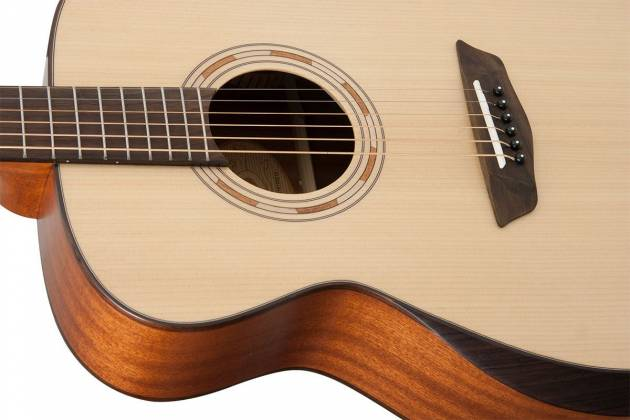Washburn WCG10SNS Comfort Series 6 String RH Acoustic Guitar (discontinued clearance) Product Image 6
