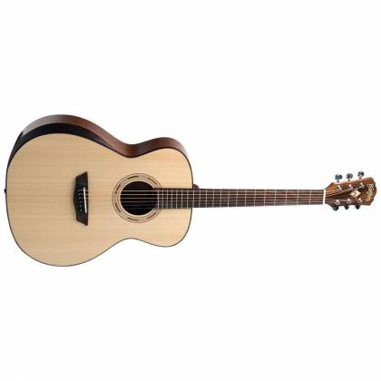 Washburn WCG10SNS Comfort Series 6 String RH Acoustic Guitar (discontinued clearance) Product Image 2