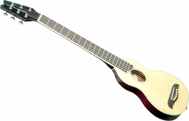 Washburn RO10W Rover 6 String Acoustic Mini Travel Guitar (discontinued clearance) Product Image 2