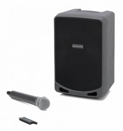 Samson XP106W Portable PA with Wireless Mic and Bluetooth Product Image