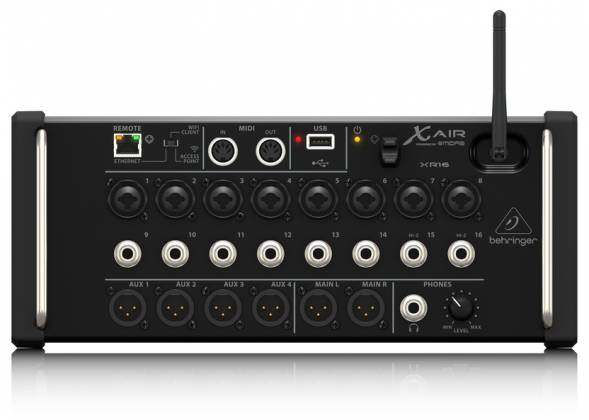 Behringer XR16 X AIR Series Rack Mountable 16 Input Digital Mixer for iPad/Android Tablets xr-16-x Product Image 3