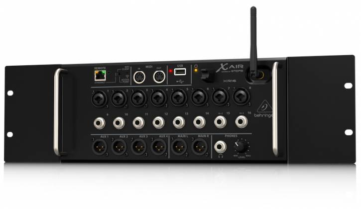 Behringer XR16 X AIR Series Rack Mountable 16 Input Digital Mixer for iPad/Android Tablets xr-16-x Product Image 6