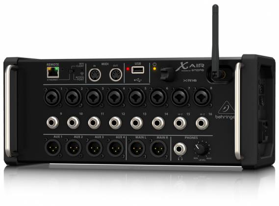 Behringer XR16 X AIR Series Rack Mountable 16 Input Digital Mixer for iPad/Android Tablets xr-16-x Product Image 8