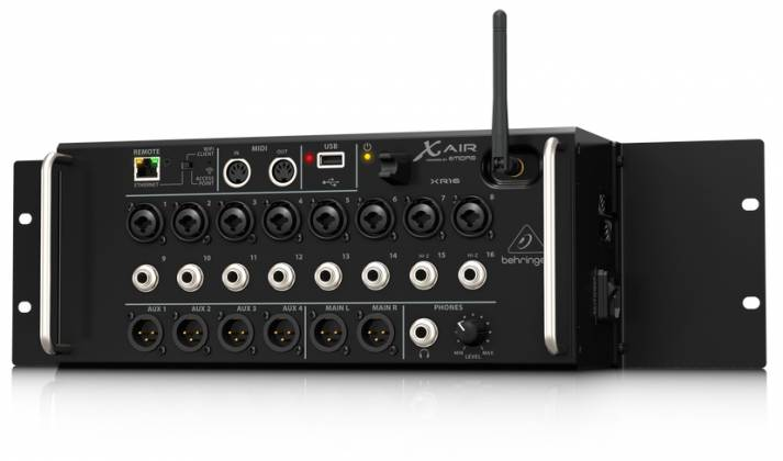 Behringer XR16 X AIR Series Rack Mountable 16 Input Digital Mixer for iPad/Android Tablets xr-16-x Product Image 10