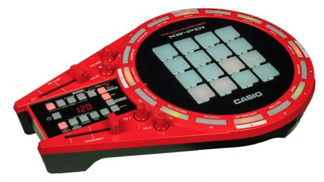 Casio XW-PD1 All in One Trackformer DJ & Groove Controller with Electronic Drum Pads Product Image 3