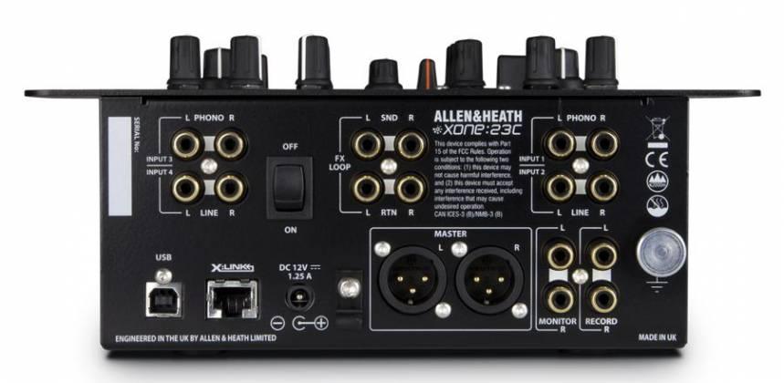 Allen & Heath XONE:23C DJ Mixer & Internal Soundcard Product Image 5