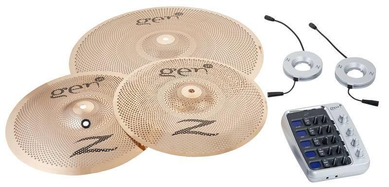 Zildjian G16BS3DS Gen16 A/E Buffed Bronze 13/18 DS Cymbal Set Product Image 3