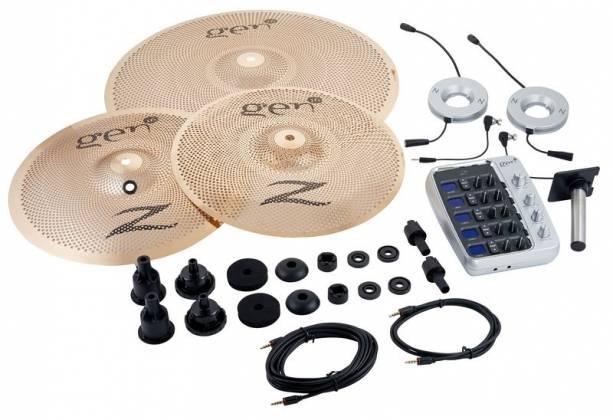 Zildjian G16BS3DS Gen16 A/E Buffed Bronze 13/18 DS Cymbal Set Product Image 4