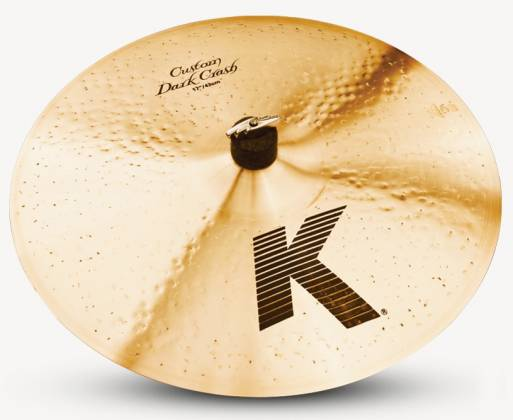 "Zildjian K0952 17"" K Series Custom Dark Crash Cymbal Product Image 2"