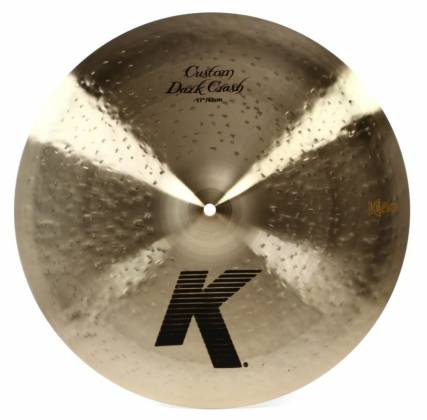 "Zildjian K0952 17"" K Series Custom Dark Crash Cymbal Product Image 3"